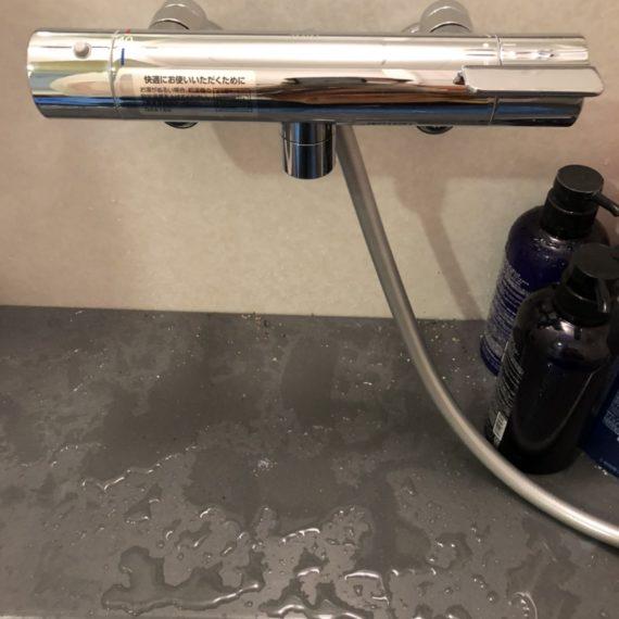 浴室シャワー水栓の交換