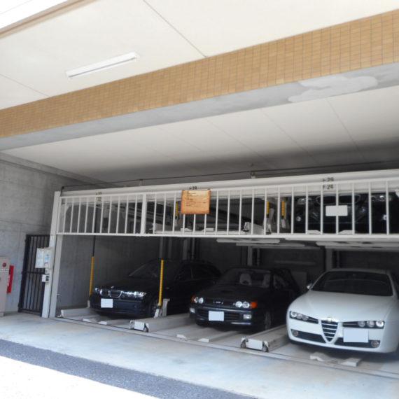 機械式駐車場の平面化工事